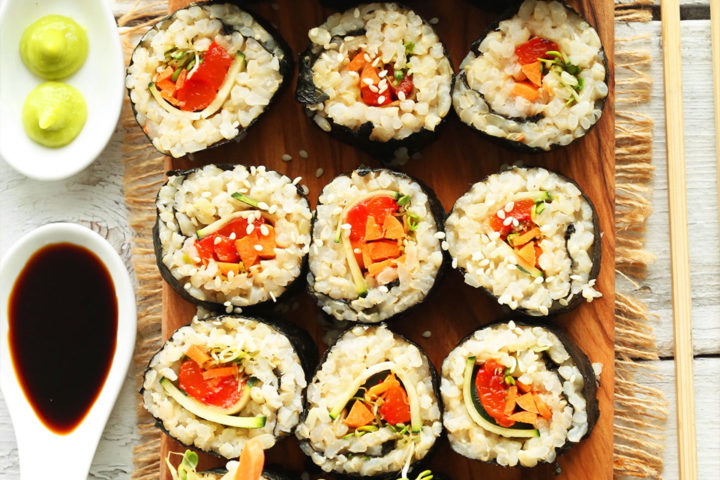Brown Rice Sushi