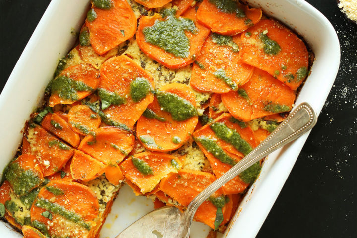 Sweet Potato Lasagne